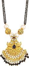 Apara Double Black Mani Mala Pendant Chain Mangalsutra for Women/Girls
