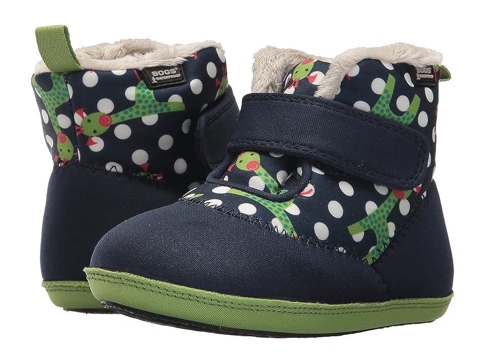 Bogs Kids Elliot Giraffe (Infant/Toddler) (Dark Blue Multi) Boys Shoes