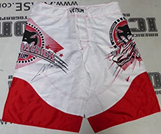 Lyoto Machida Signed Official Venum Model MMA Fight Shorts BAS COA UFC Autograph - Beckett Authentication