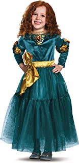 Disney Princess Merida Brave Deluxe Girls' Costume