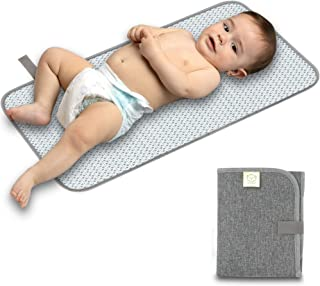 Portable Diaper Changing Pad - Waterproof Foldable Baby Changing Mat - Travel Diaper Change Mat - Lightweight & Compact Ch...