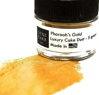 PHARAOH'S EGYPTIAN GOLD LUSTER DUST, 5 grams, USA Made
