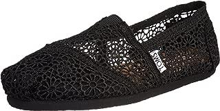 Women's Crochet Classics Black Morocco Loafers & Slip-Ons Shoe 5.5 Women US