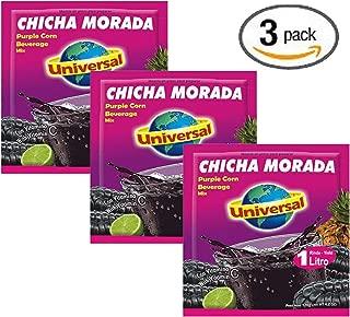 Universal Chicha Morada Purple Corn Beverage Mix - 4.2 Oz - 120 g (3-pack)