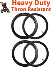 16''×1.75/2.15 Back Wheel Replacement Tires (2-pack) And Inner Tubes (2-Pack) for BoB Revolution SE/Pro/Flex - Made from BPA/Latex Free Premium Quality Butyl Rubber