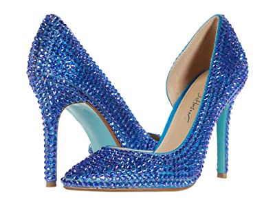 Blue by Betsey Johnson Hazil (Deep Teal) High Heels