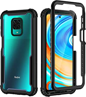 Sponsored Ad - seacosmo Xiaomi Redmi Note 9 Pro Case, Redmi Note 9s Case, Full Body Shockproof Cover [with Built-in Screen...