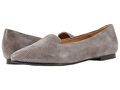 Trotters Harlowe (Taupe Soft Lizard Embossed Patent Suede) Women