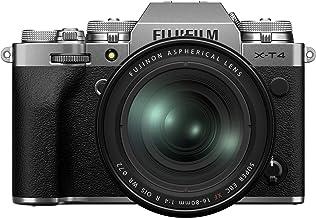 Fujfilm X-T4 Mirrorless Digital Camera XF16-80mm Lens Kit - Silver