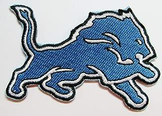 NFL Detroit Lions Football Logo Patch Patches 3 1/4