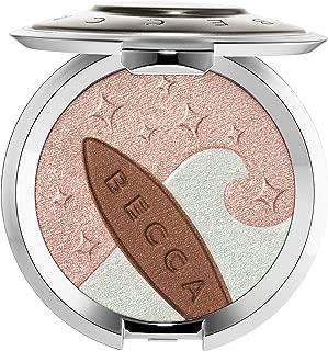 BECCA Shimmering Skin Perfector Pressed Highlighter & Sunlit Bronzer - Ocean Glow (.25 oz)
