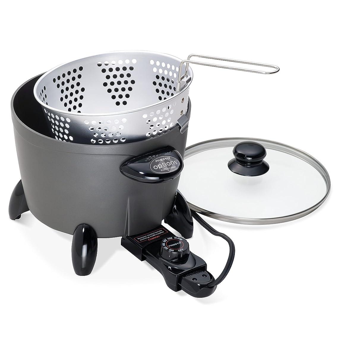 Presto 06003 Options Electric Multi-Cooker/Steamer (Renewed)