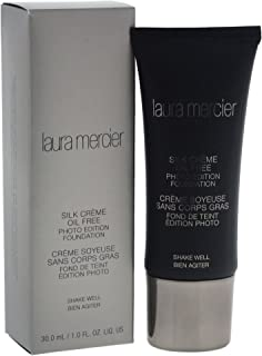 Laura Mercier Silk Creme Oil-Free Photo Edition - Cashew Beige, 30 ml