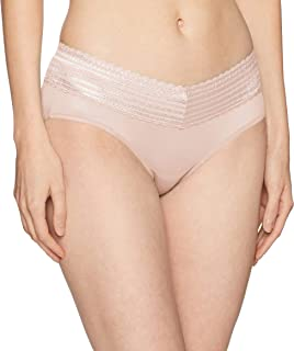 Warner's Women's Plus Size No Pinching No Problems Lace Hipster Panty, Rosewater, 3XL