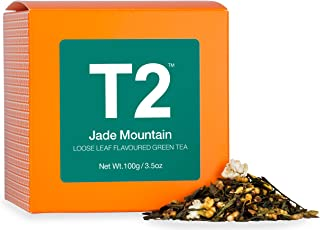 T2 Tea Jade Mountain Loose Leaf Green Tea in Box, 100 g