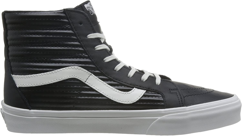 Amazon.com | Vans Women's SK8-Hi Reissue Trainers, Black(Black ...