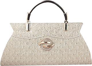 GM CREATIONS® Women Latest Trendy Wedding Evening Hand carry Purse Bride Party Clutch Bag/stylish Elegant Party Hand Clutc...