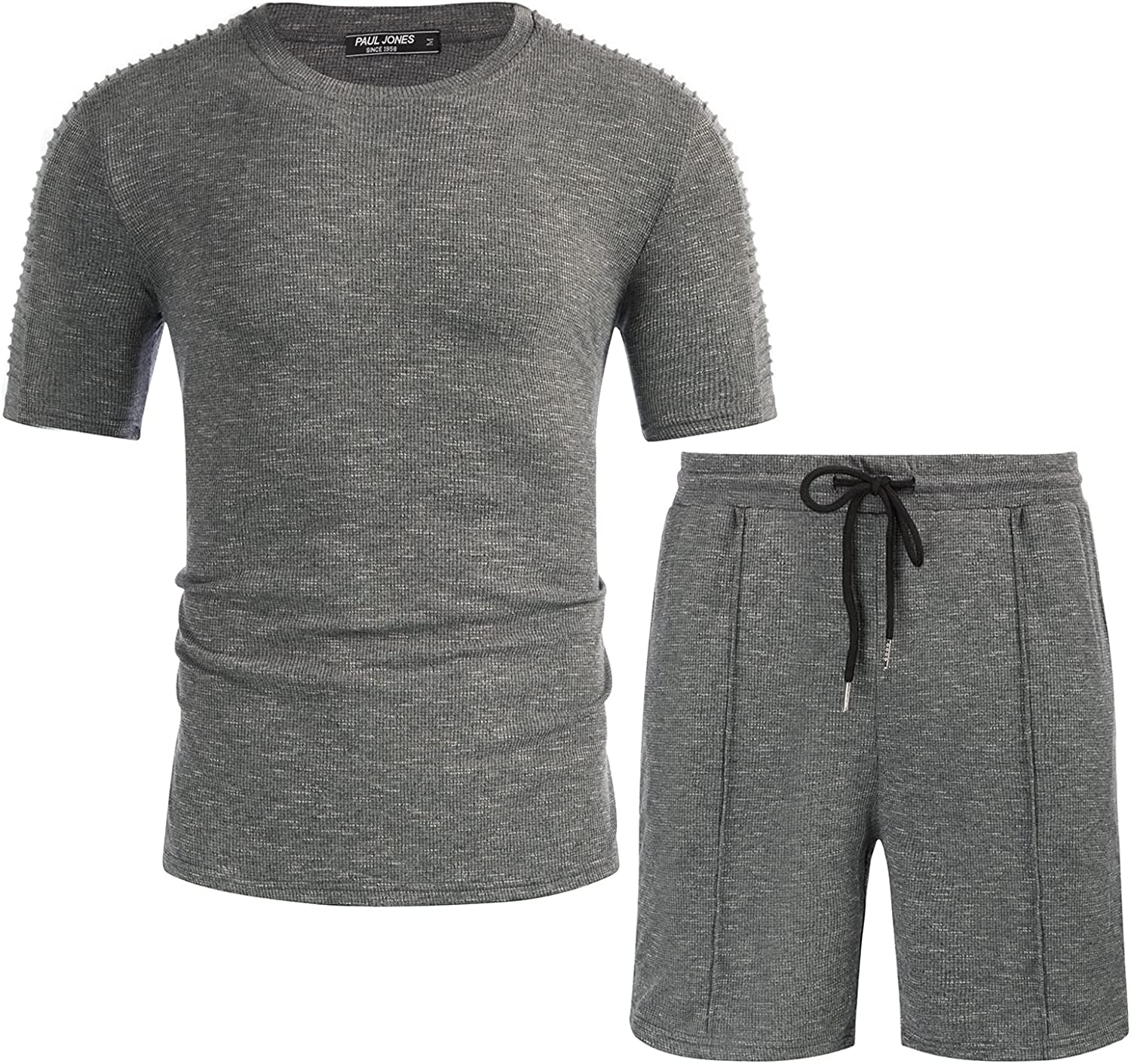 Some reservation PJ PAUL JONES Mens Ultra Soft and Short Muscle Shor T-Shirt Sets Price reduction