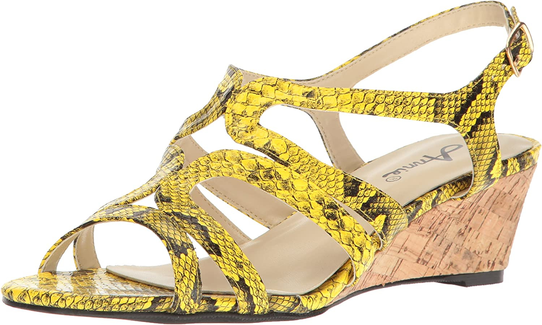 Annie Womens Aspen W Espadrille Wedge Sandal
