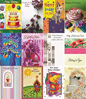 Greeting Card All Occasions Assorted Bulk 120 Count Pack