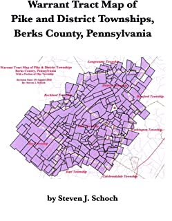 Warrant Tract Map of Pike and District Townships, Berks County, Pennsylvania