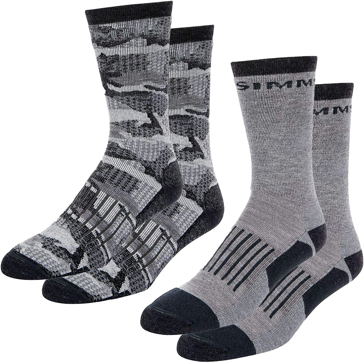 Simms All stores are sold Men's Ranking TOP3 Merino Midweight Sock Hiker 2-Pack