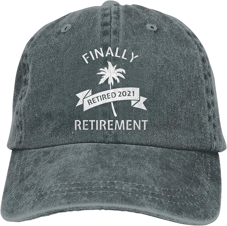 Retirement 2021 Retiree Colleague Retired Vintage Baseball Cap, Adjustable Size Dad Hat, Vintage Baseball Hats for Men Woman
