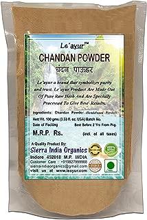 Le'ayur Chandan (Sandalwood) Powder 100 Gms