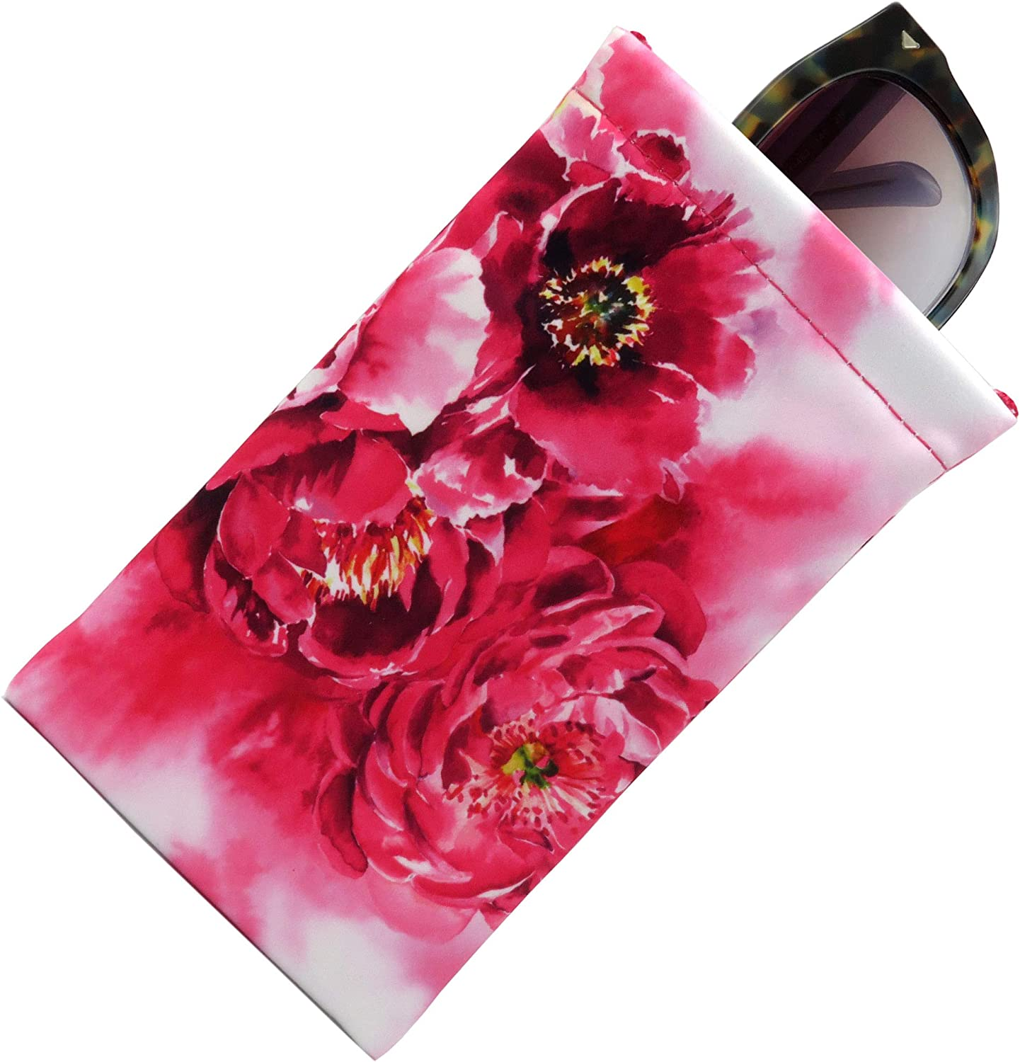 Soft Sunglasses case Columbus Mall Large soft Top Gorgeous Case eyeglass ey Squeeze