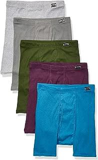 Men's 5-Pack Comfort Soft Boxer Briefs, Assorted Colors,...