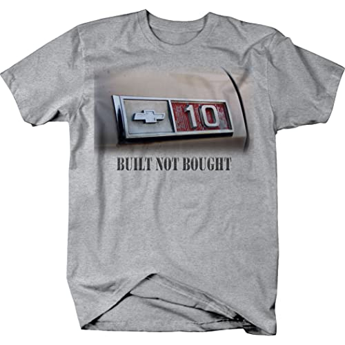 OS Gear Chevy C10 Built Not Bought Vintage 1970s Truck Tshirt
