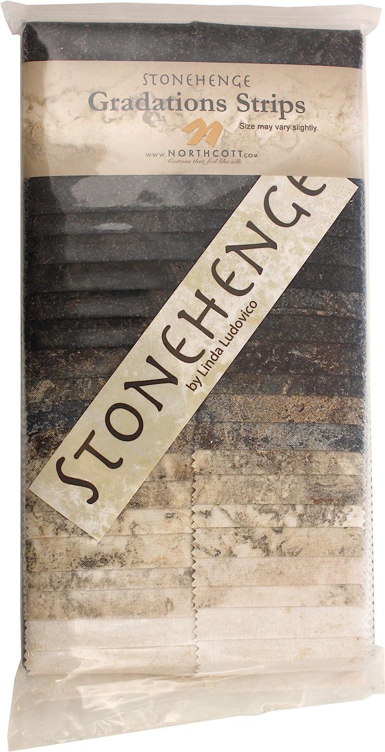 Northcott Fabric Stonehenge Gradations Slate 40 2.5