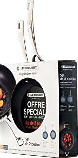 LE CREUSET 96210400000000 - Set de sartenes (Aluminio Forjado, 24 y 28 cm)