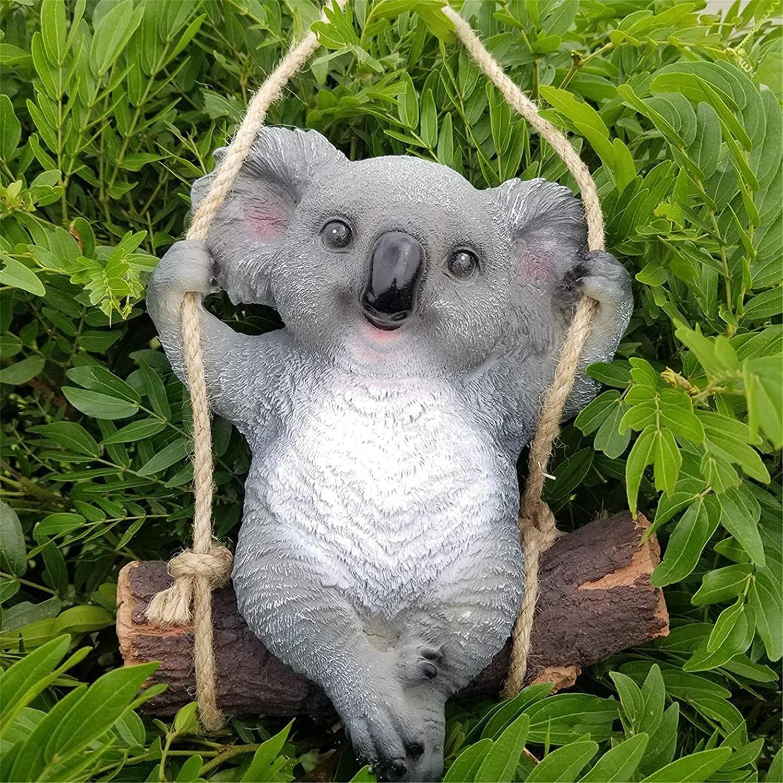 Louisville-Jefferson County Mall HZYDD Houston Mall vase Sculpture Decorations Cute Tree Hanging Swing Koala