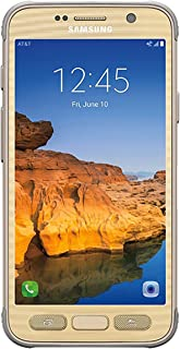 Samsung Galaxy S7 ACTIVE G891A 32GB Unlocked GSM Shatter-Resistant, Extremely Durable Smartphone w/ 12MP Camera - Sandy Gold (Renewed)