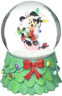 Department 56 Disney Minnie with Lights Waterball Snowglobe