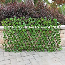 Uitbreiding Type Simulation Fence Fake Green Leaves Outdoor Garden Fence Muur Vangrail decoratieve bladeren blokkeren Plan...
