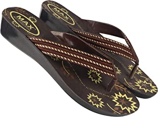 Camfoot-5022 Brown Exclusive Range of Flats Slippers for Women