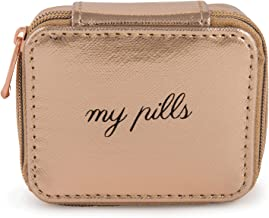 Miamica Women's Pill Case, Rose Gold