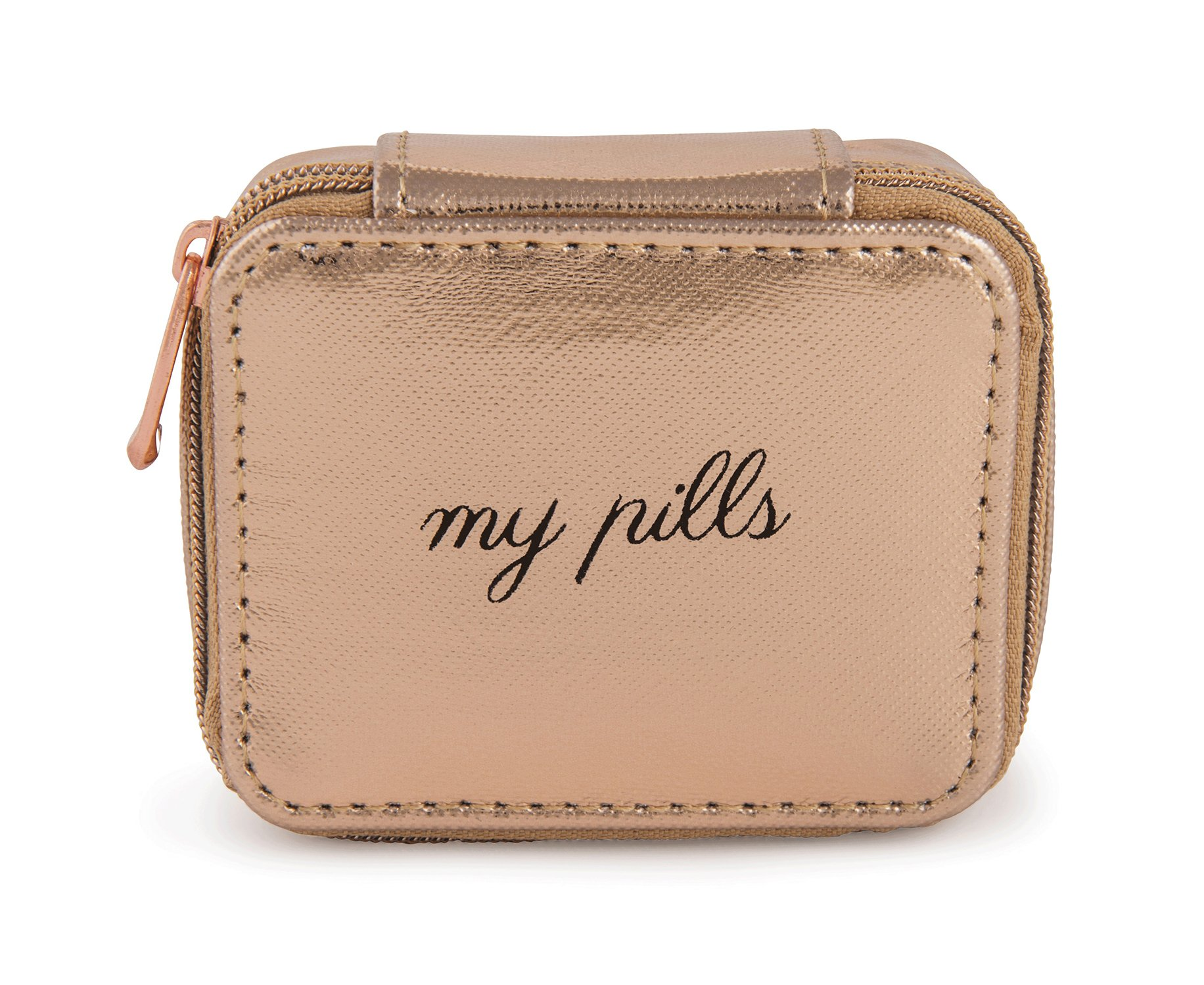 Miamica Womens Pill Case Rose