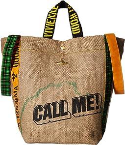 Vivienne Westwood Africa Tote Bag