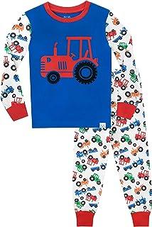 Harry Bear Pijamas de Manga Larga para niños Tractor Ajuste Ceñido