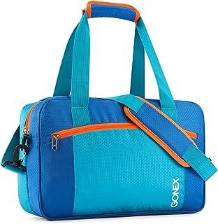 Gonex Beutel 35l Sporttasche, kein Auslaufen, wasserdicht, mit Tasche mit Reißverschluss Kleidung, trocken Nass für Männer, Frauen Kinder Schwimmen Lernen