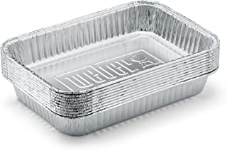 Weber 6415 Small 7-1/2-Inch-by-5-inch Aluminum Drip Pans,...