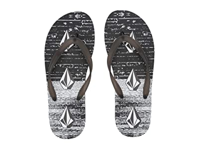 Volcom Rocker 2 Sandal (Black/White) Men