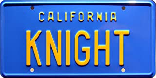 Celebrity Machines Knight Rider | Knight | Metal Stamped License Plate