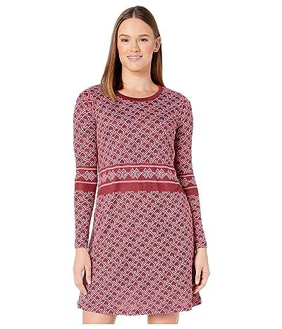 Aventura Clothing Adalyn Swing Dress (Beet Red) Women