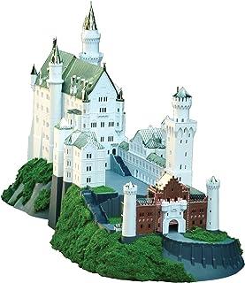 童友社 1/220 ドイツの古城 ノイシュバンシュタイン城 豪華メッキ版 プラモデル NSG