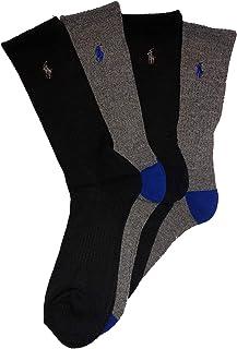 Polo Ralph Lauren Men's Classic Sport Crew Socks 4-Pack Size 10-13