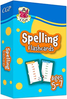 New Spelling Home Learning Flashcards for Ages 5-7